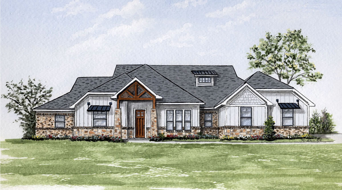 Noble Classic Homes The Highlands Of Northlake For Modern Farmhouse Elevation 75tgx